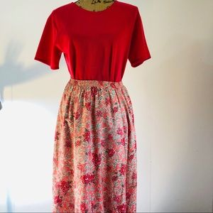 Liz Baker Essential set the skirt and blouse sz S
